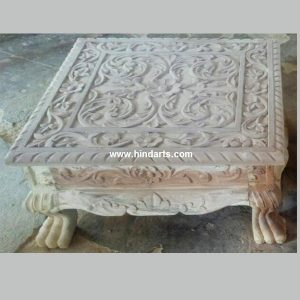 WOODEN CARVED  BAJOT(ITEM CODE 1204)