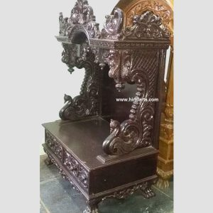 WOODEN CARVED TEMPLE (ITEM CODE 131 )