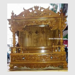 WOODEN CARVED TEMPLE (ITEM CODE 137 )