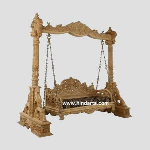 WOODEN CARVING SWING (ITEM CODE 203)